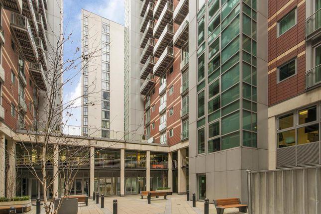 Courtyard of 9 Albert Embankment, Vauxhall, London SE1