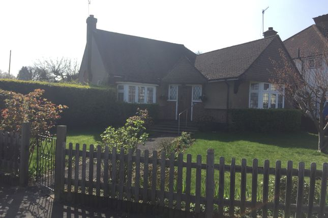 Thumbnail Bungalow to rent in Oaklands Avenue, Oxhey Hall, Watford