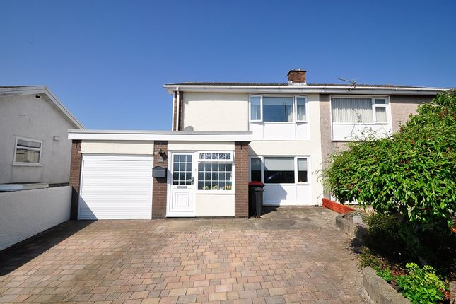 Thumbnail Semi-detached house for sale in Aberthaw Circle, Newport