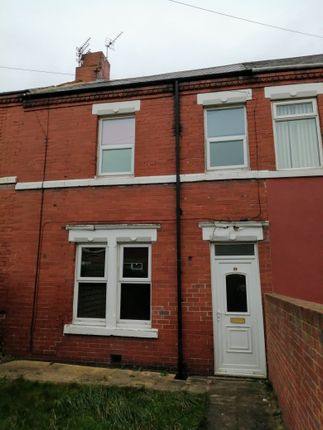 Thumbnail Terraced house to rent in Council Road, Ashington