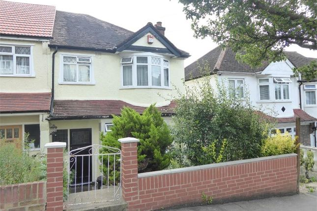 Thumbnail End terrace house for sale in Michael Road, London