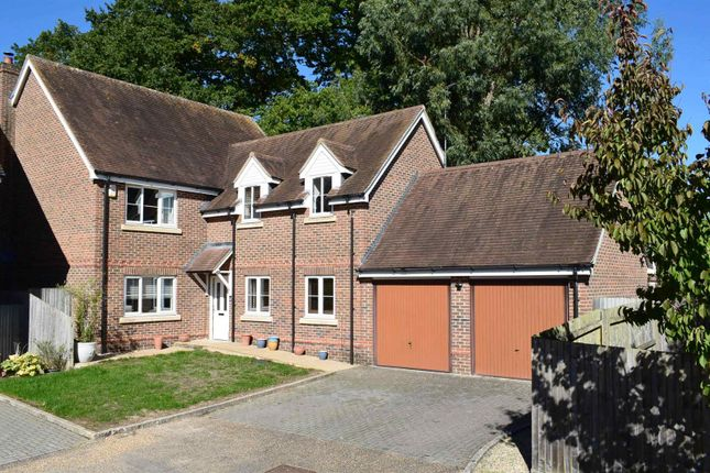 Thumbnail Detached house for sale in Oakridge, Wash Water, Newbury