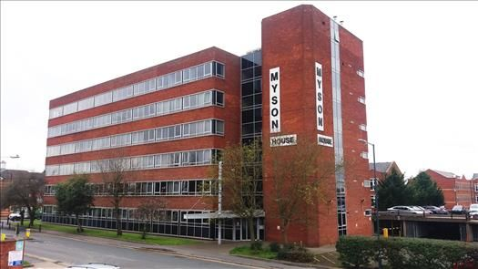 Thumbnail Office to let in 3rd & 5th Floor, Myson House, Railway Approach, Rugby