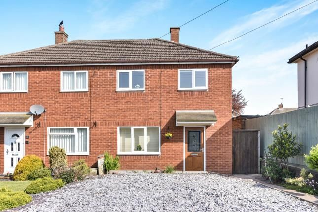 Thumbnail Semi-detached house for sale in Hawthorne Avenue, Tamworth, Staffordshire
