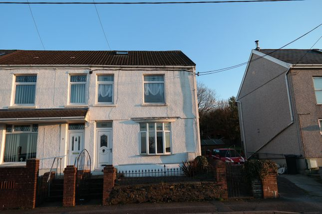 Thumbnail End terrace house for sale in Brynhyfryd Terrace, Neath