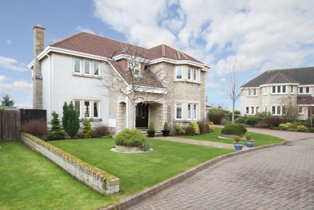 Thumbnail Detached house for sale in Carlingnose Way, North Queensferry, Fife