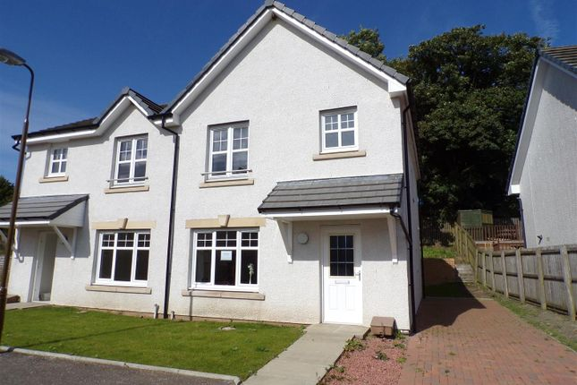 Thumbnail Semi-detached house for sale in Breichwater Place, Fauldhouse, Bathgate