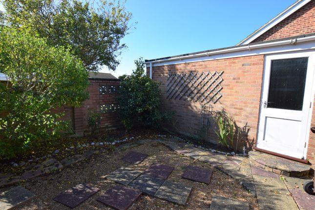 Side Garden of Golding Road, Eastbourne BN23