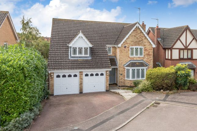 Thumbnail Detached house for sale in Carmarthen Way, Rushden