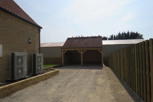 Garage of The Drove, Barroway Drove, Downham Market PE38