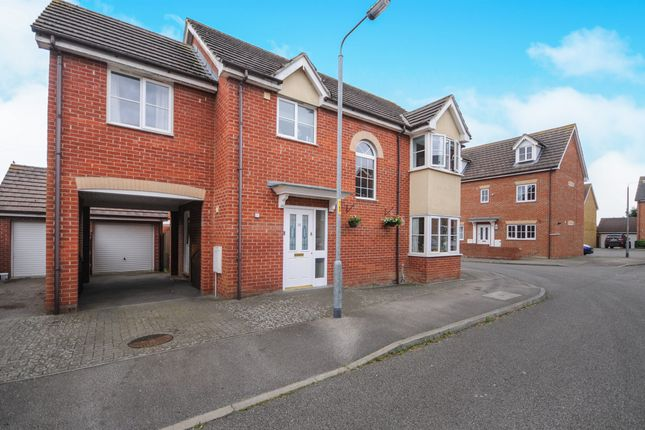Thumbnail Detached house for sale in Stanford Road, Thetford