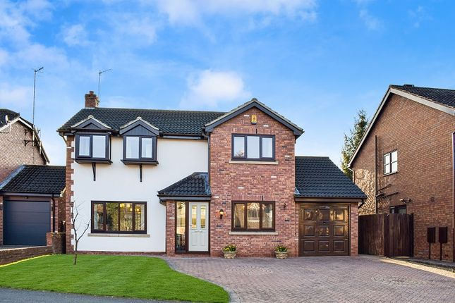 Thumbnail Detached house for sale in Danebower Road, Trentham, Stoke On Trent