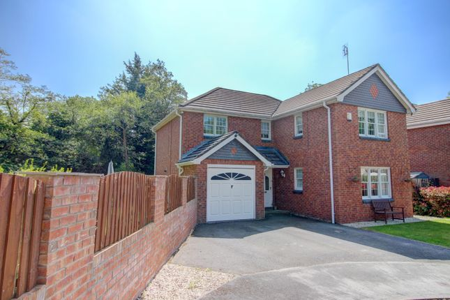 Thumbnail Detached house for sale in Riverside Court, Wrexham Road, Pontblyddyn, Mold