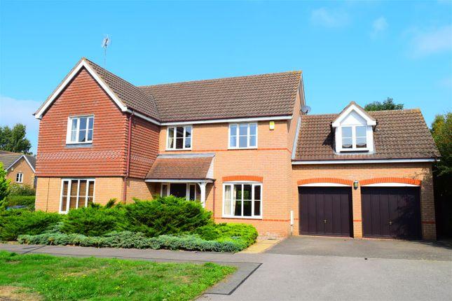 Thumbnail Detached house for sale in Samwell Way, Hunsbury Meadows, Northampton