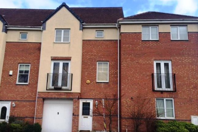 Thumbnail Town house to rent in Plantin Road, Nottingham