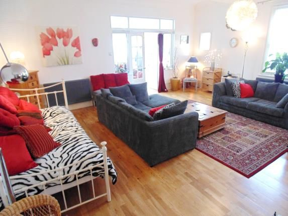 Thumbnail Flat for sale in Cowper Road, Worthing, West Sussex, England