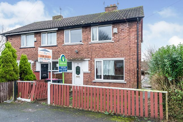 Thumbnail Semi-detached house for sale in Briar Hill Avenue, Manchester