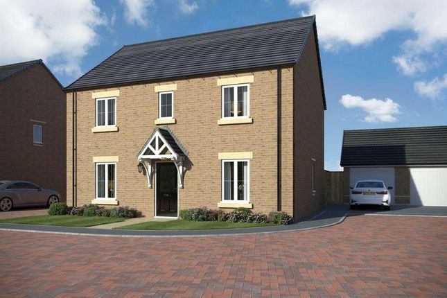 """Thumbnail Detached house for sale in """"Bradgate"""" at Popes Piece, Burford Road, Witney"""