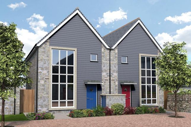 Thumbnail End terrace house for sale in Park An Daras, Falmouth Road, Helston, Cornwall