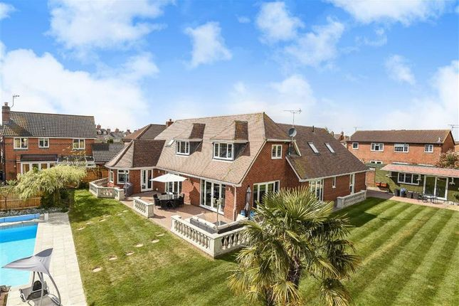 Thumbnail Detached house for sale in Bowman Close, Stratone Village, Wiltshire