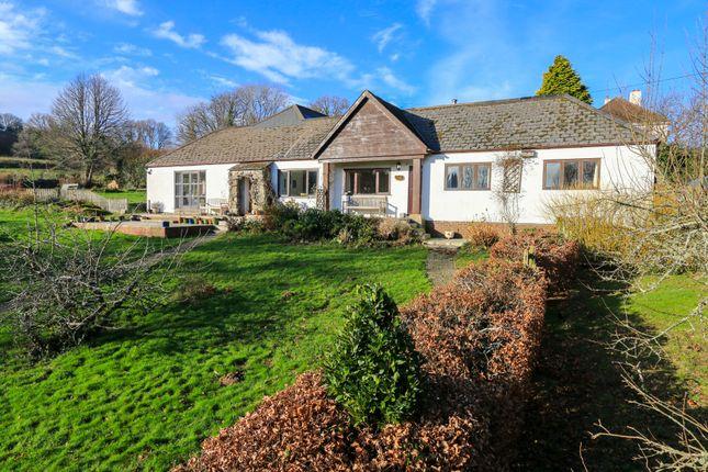 Thumbnail Detached bungalow for sale in Pethybridge, Lustleigh, Newton Abbot