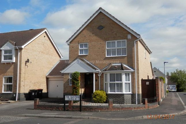Thumbnail Link-detached house to rent in The Cloisters, Bedford