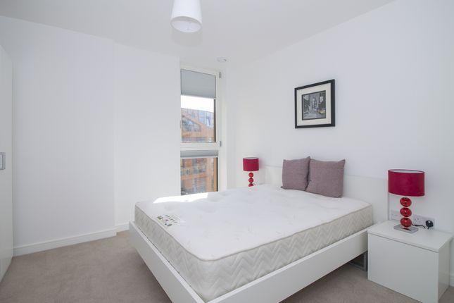 Bedroom of Tiggap House, Enderby Wharf, Greenwich SE10
