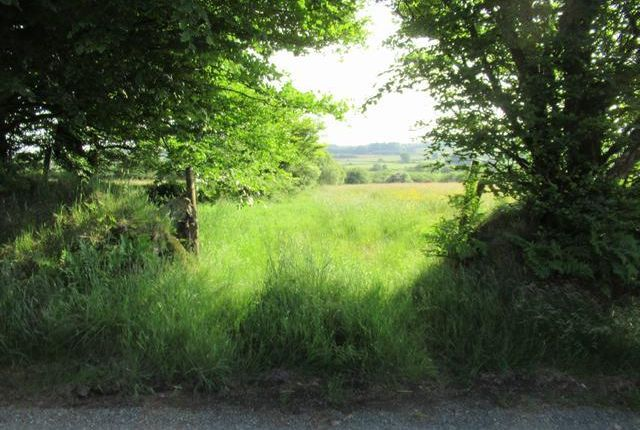 Land for sale in Station Road, Crymych