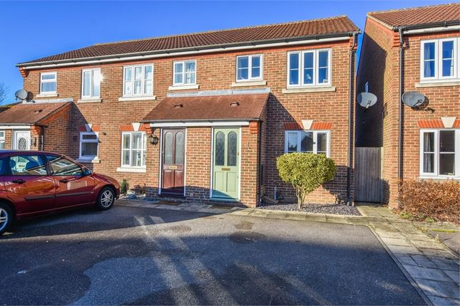 Thumbnail End terrace house for sale in Antonius Way, Colchester, Essex
