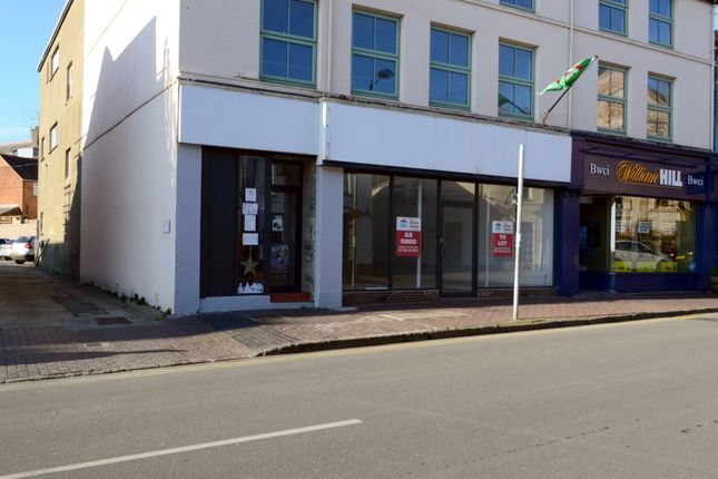 Thumbnail Retail premises to let in Retail Unit, Gaol Street, Pwllheli, Pen Llyn, Llyn Peninsula, North West Wales