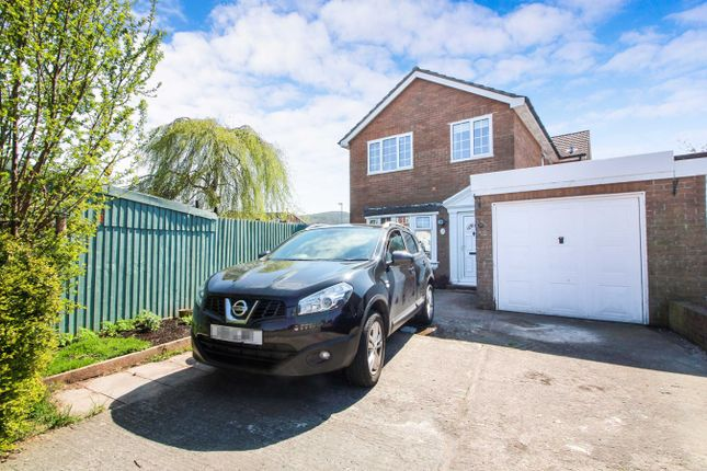Thumbnail Semi-detached house for sale in Croesonen Parc, Abergavenny