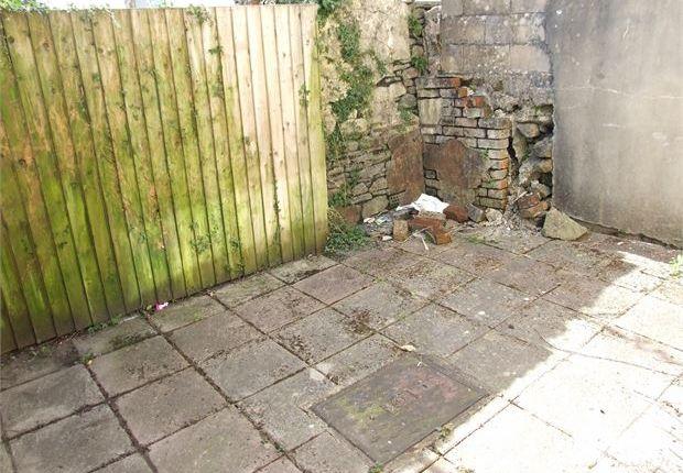Garden of Thomas Street, Clydach Vale, Rhondda Cynon Taff. CF40