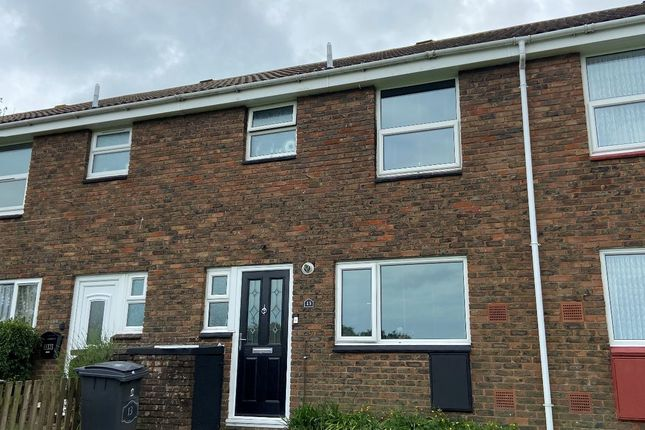 Thumbnail 3 bed terraced house to rent in Leivers Road, Deal