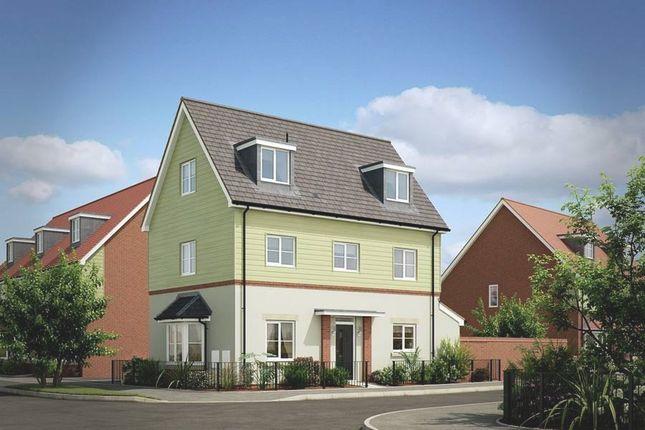 "Thumbnail Detached house for sale in ""The Bampton Detached"" at London Road, Calverton, Milton Keynes"