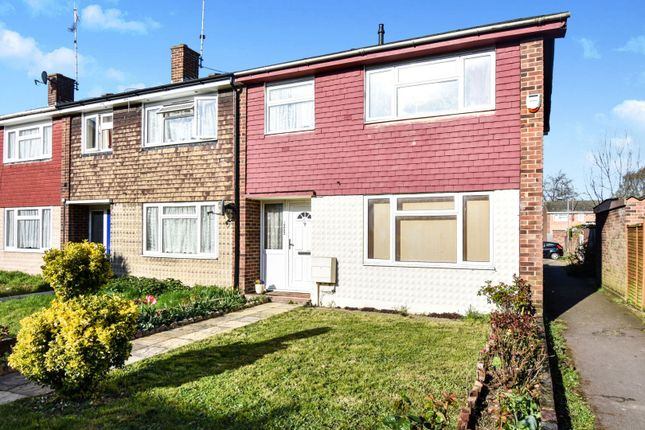 Thumbnail 3 bed end terrace house for sale in Meadgate Avenue, Chelmsford