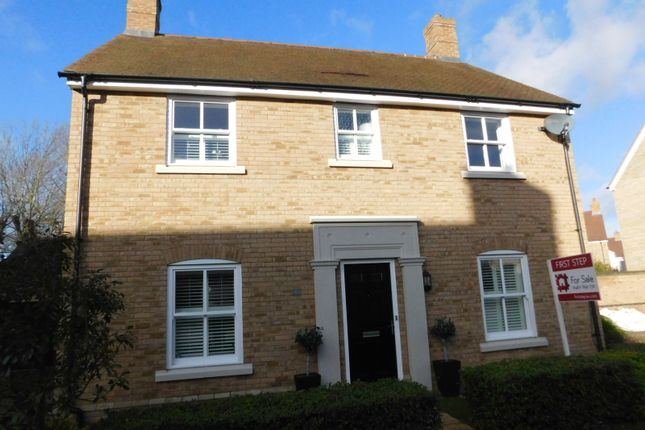 Thumbnail Detached house for sale in Edison Way, Fairfield, Stotfold, Herts