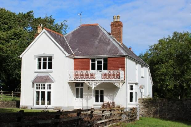 Thumbnail Detached house for sale in Fishguard Road, Newport