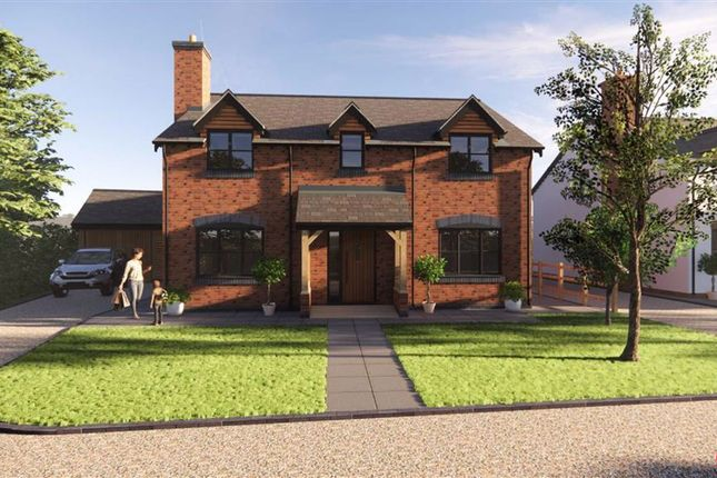 Thumbnail Detached house for sale in Hengoed, Oswestry