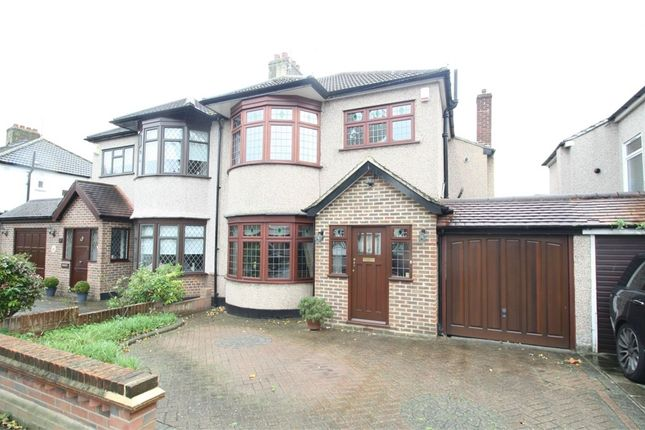 Thumbnail Semi-detached house for sale in Beauly Way, Romford, Essex