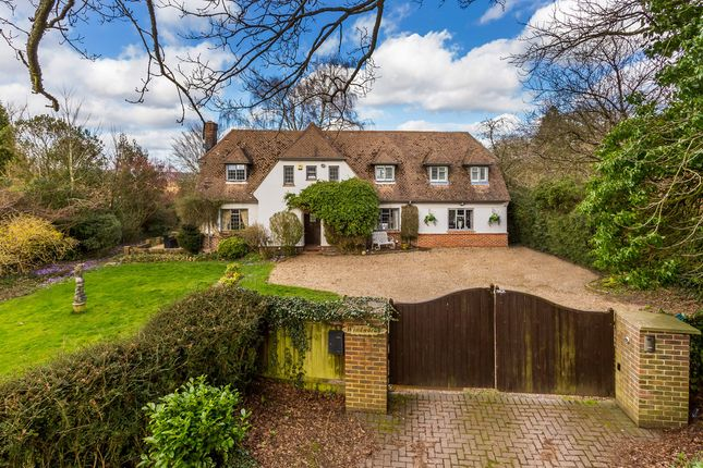 Thumbnail Detached house for sale in Ridlands Lane, Limpsfield Chart