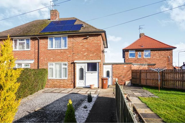 Thumbnail End terrace house for sale in Staveley Road, Hull