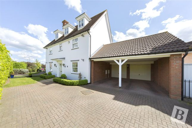 Thumbnail Link-detached house for sale in Shardelow Avenue, Beaulieu Park, Essex