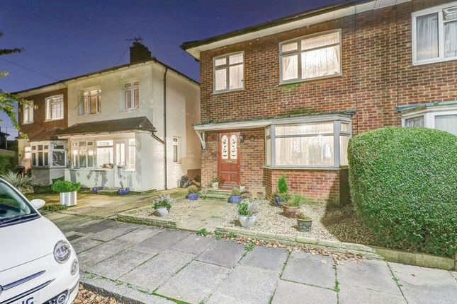Thumbnail Semi-detached house for sale in Bournemead Close, Northolt