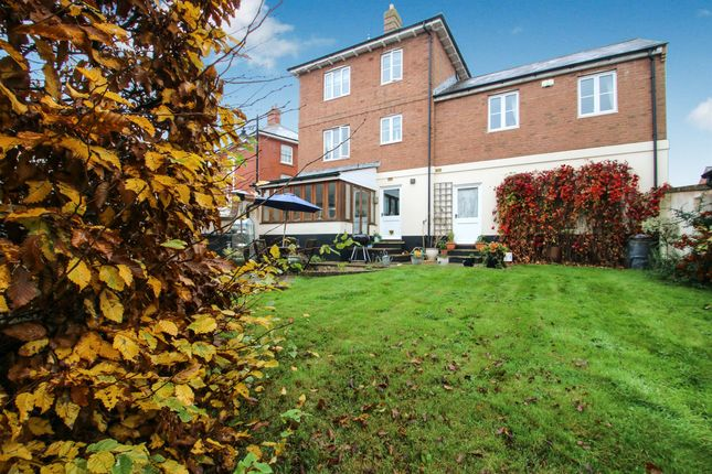 Thumbnail Detached house for sale in Hillyfields, Taunton