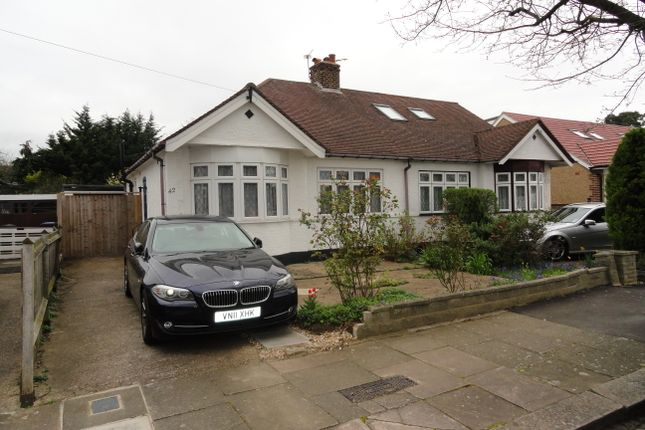 Thumbnail Semi-detached bungalow for sale in Islip Gardens, Northolt
