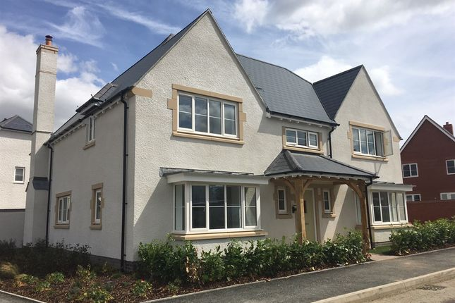 Thumbnail Detached house for sale in Tadpole Garden Village, Blunsdon, Swindon