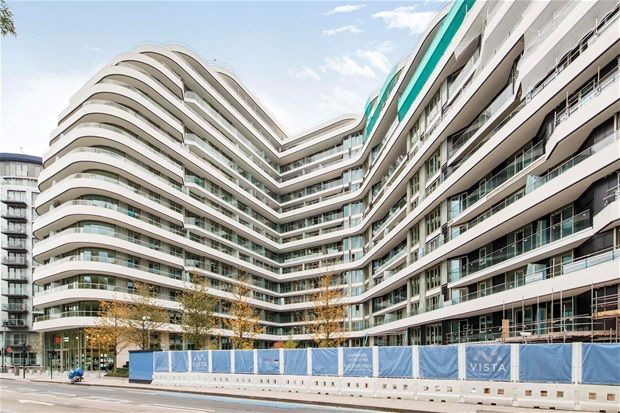 Thumbnail Flat for sale in Sophora Vista, Two Bedroom, Chelsea Bridge Wharf