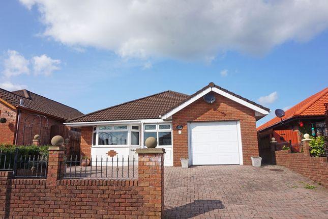 Thumbnail Detached bungalow for sale in Woodside, Tir-Y-Berth, Hengoed