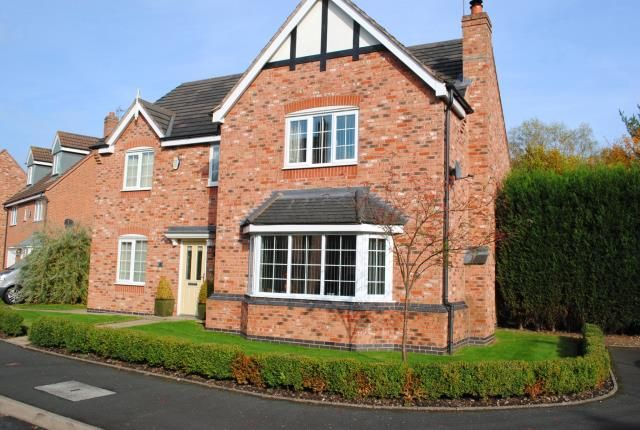 Thumbnail Detached house for sale in Buttercup Close, Huntington, Cannock, Staffordshire