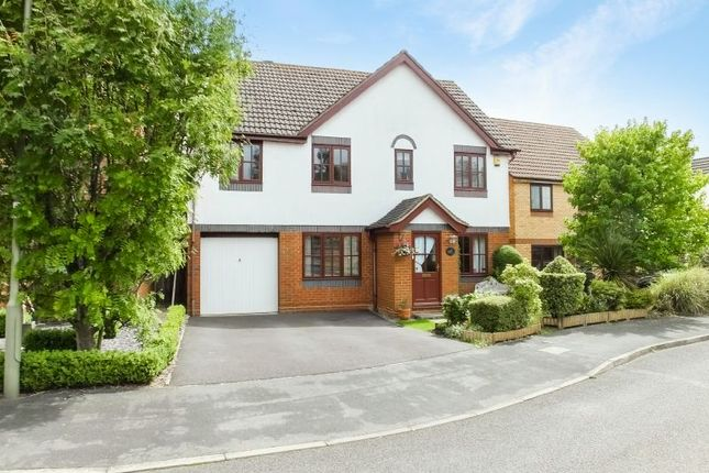 Thumbnail Detached house for sale in Kerria Way, West End, Woking